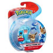 Conjunto Pokemon Wobbuffet, Popplio e Eevee 4844 DTC