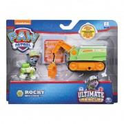 Figura e Mini Veículo Patrulha Canina Resgate Extremo Rocky & Mini Crane 1384 Sunny
