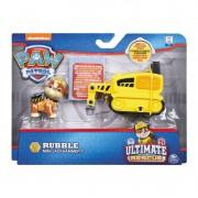 Figura e Mini Veículo Patrulha Canina Resgate Extremo Rumble & Mini Jackhammer 1384 Sunny