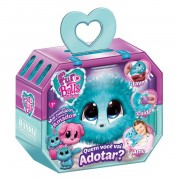 Fur Balls Pets Adotados Surpresa Azul F00151 Fun Divirta-se