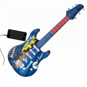 Guitarra Infantil Hot Wheels 84224 Fun Divirta-se