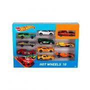 Hot Wheels 10 Kit Com 10 Carrinhos Sortidos Mattel