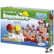 Jogo Brincando de Engenheiro 200 Peças Ref. 53065 Xalingo
