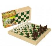Jogo de Xadrez Escolar em Caixa de Madeira 60087 Xalingo