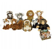 Kit com 9 Pelúcias Animal Planet F0023-9 Fun Divirta-se