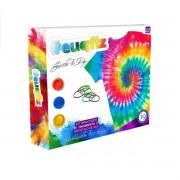 Kit Para Fazer Camiseta Adulto Tie Dye #EUQFIZ I9 Brinquedos GG