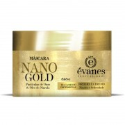 Máscara Nano Gold Brilho Extremo Argan e Macadâmia 300gr Évanes Professional