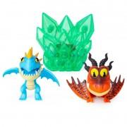 Mini Figuras e Acessórios - Como Treinar Seu Dragão 3 - Pesadelo Monstruoso e Nadder Mortal 1455 Sunny
