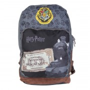 Mochila Disney Harry Potter Cinza MS45836HP09 Luxcel