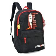 Mochila La Casa de Papel The Team MJ48734CP04 Vermelha