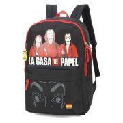 Mochila La Casa de Papel The Team MJ48734CP06 Preta