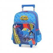 Mochilete Infantil Super Wings Azul IC33912SW Luxcel