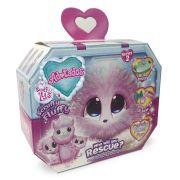 Pelucia Surpresa Fur Balls Pets Adotados Especial Arco-Iris Lilas 8460-5 Fun
