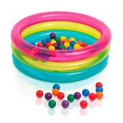 Piscina de Bolinhas Multi Color 48674 Fun Divirta-se