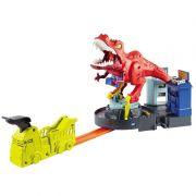 Pista de Percurso e Veículo Hot Wheels City T-Rex Demolidor GFH88 Mattel