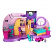 Playset e Mini Boneca Quarto da Polly Pocket FRY98 Mattel