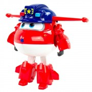 Super Wings Change em Up Jett Policial 84913 Fun Divirta-se