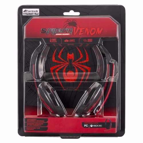 Fone de Ouvido Headset Spider Venom Shs701 Fortrek