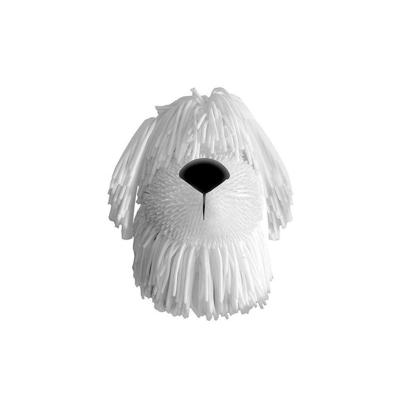Adotados Dog Borrachinha Branco F00193 Fun Divirta-se