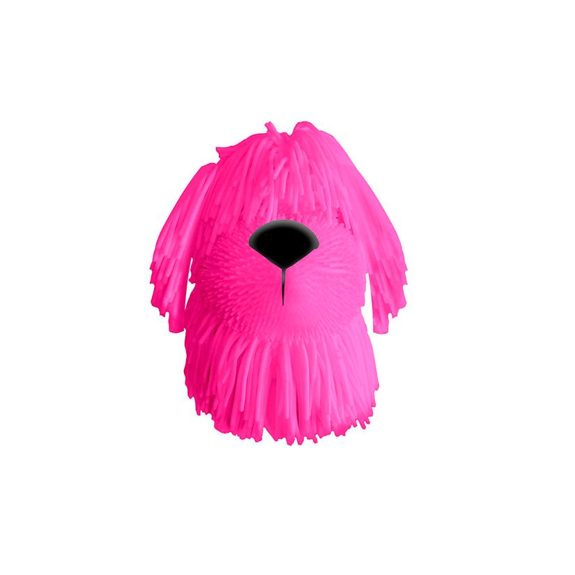 Adotados Dog Borrachinha Rosa F00193 Fun Divirta-se