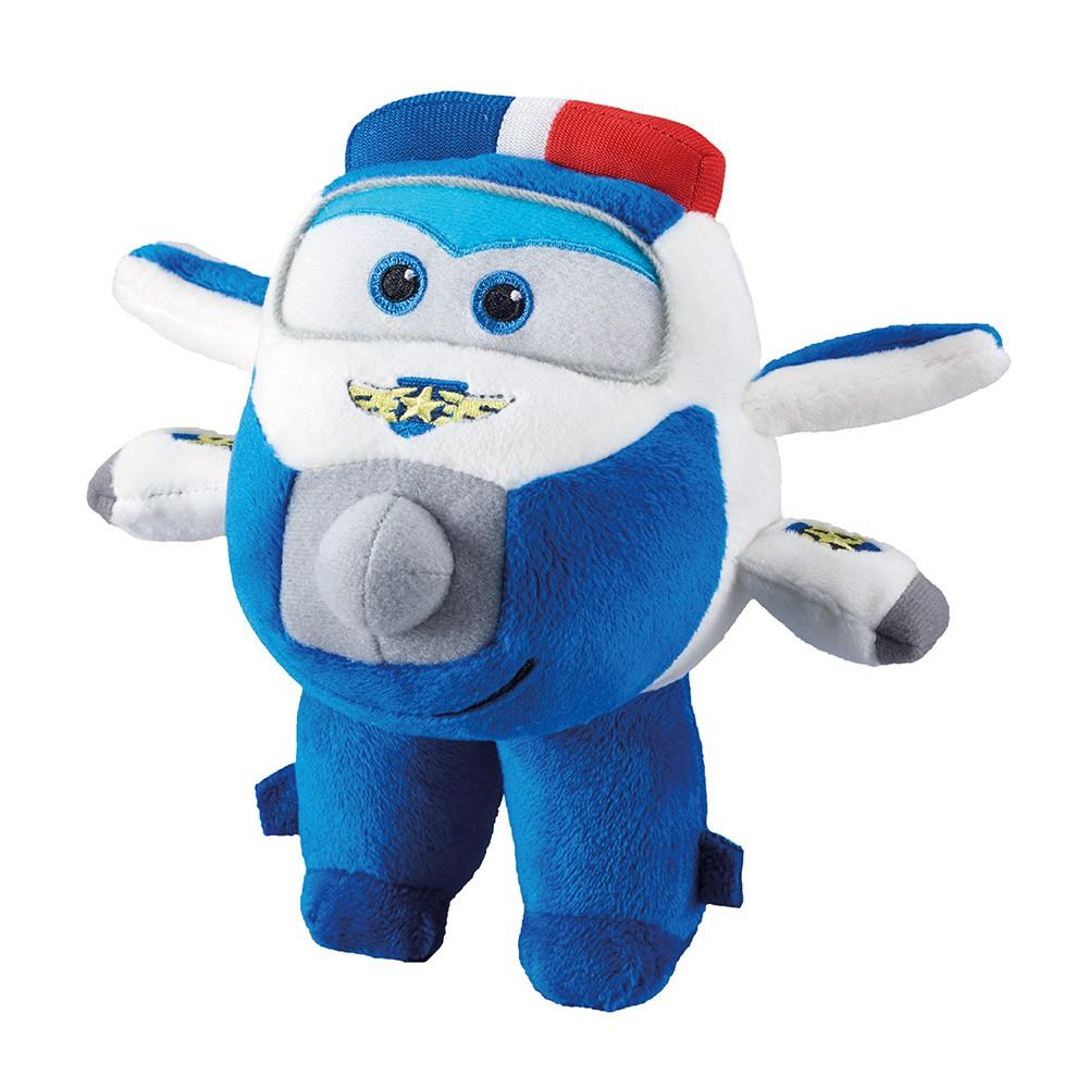Avião de Pelúcia 17 cm Super Wings Paul 80086 Fun