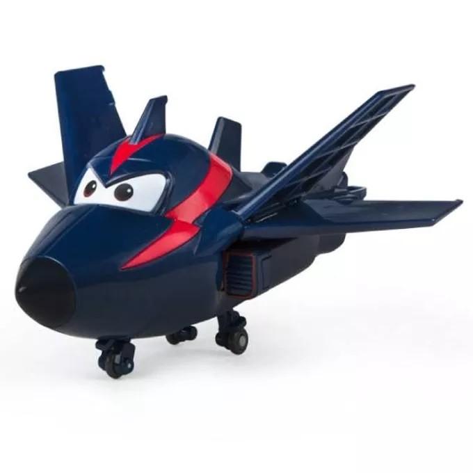 Avião Super Wings Agent Chace Change em Up 80064 Intek