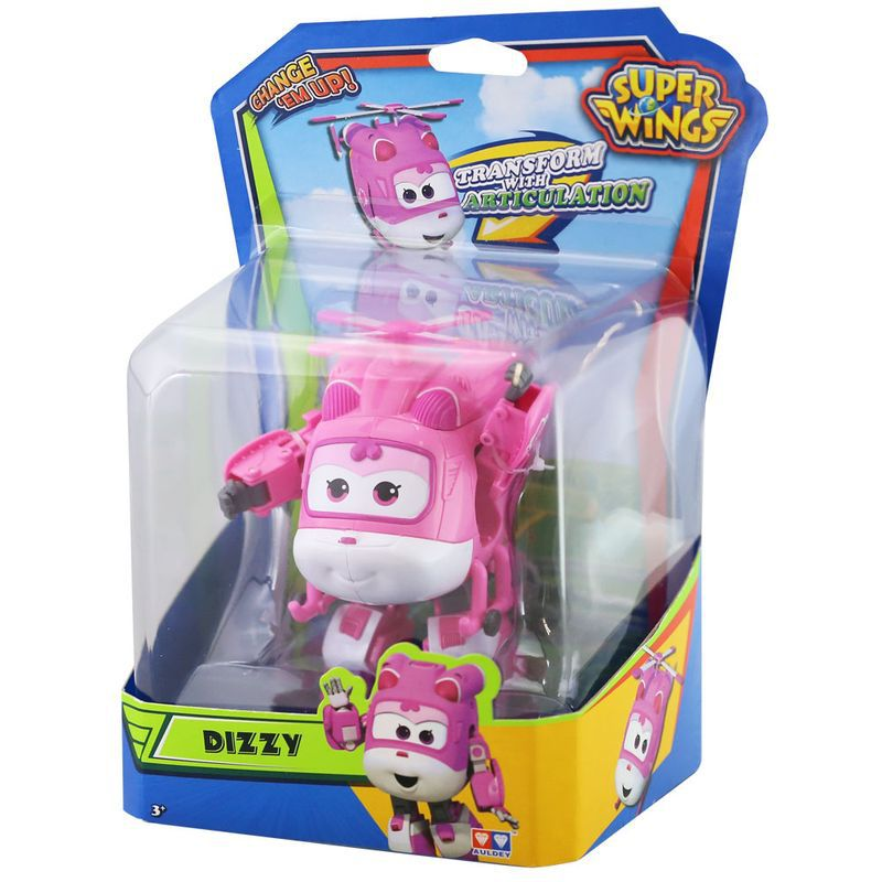 Avião Super Wings Dizzy Change em Up 80064 Intek