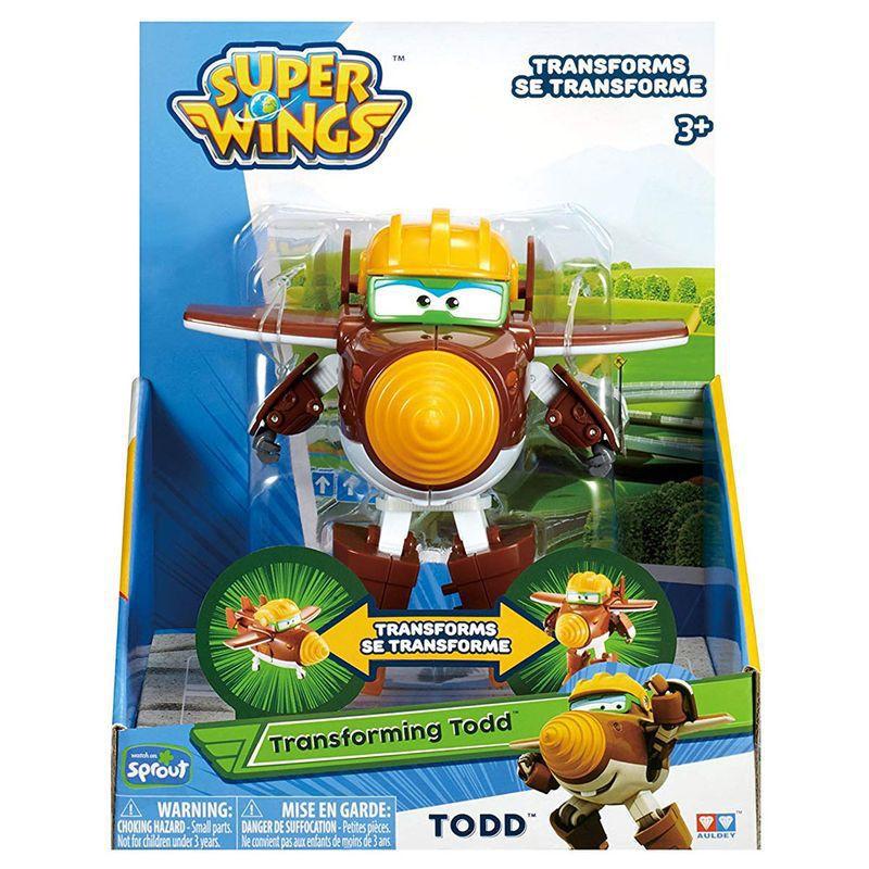 Avião Super Wings Todd Change em Up 80064 Intek