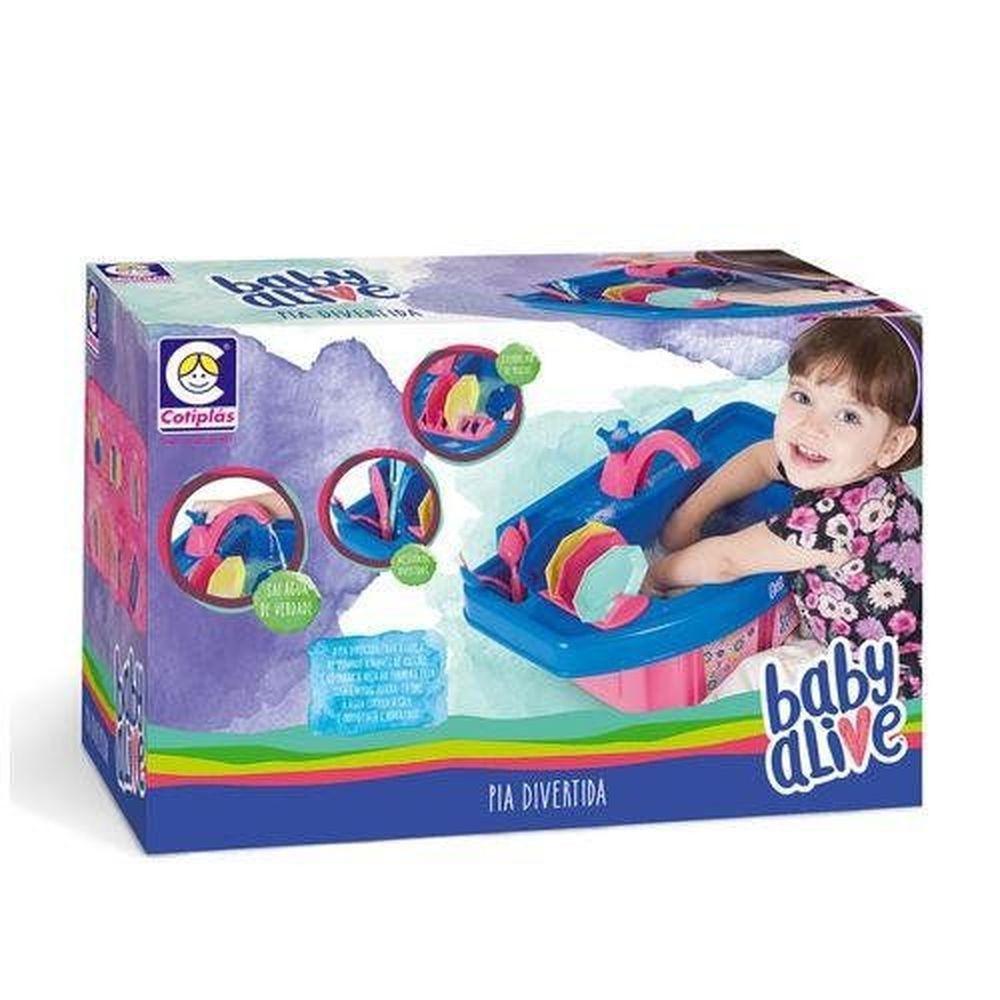 Baby Alive Pia Divertida 2144 Cotiplás