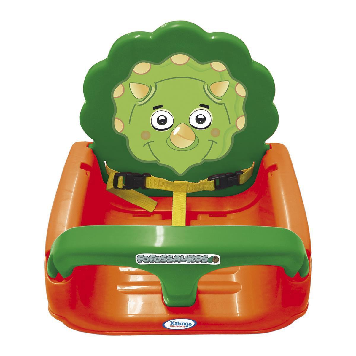 Balanço Infantil com Encosto Regulável Fofossauros Ref 9254 Xalingo