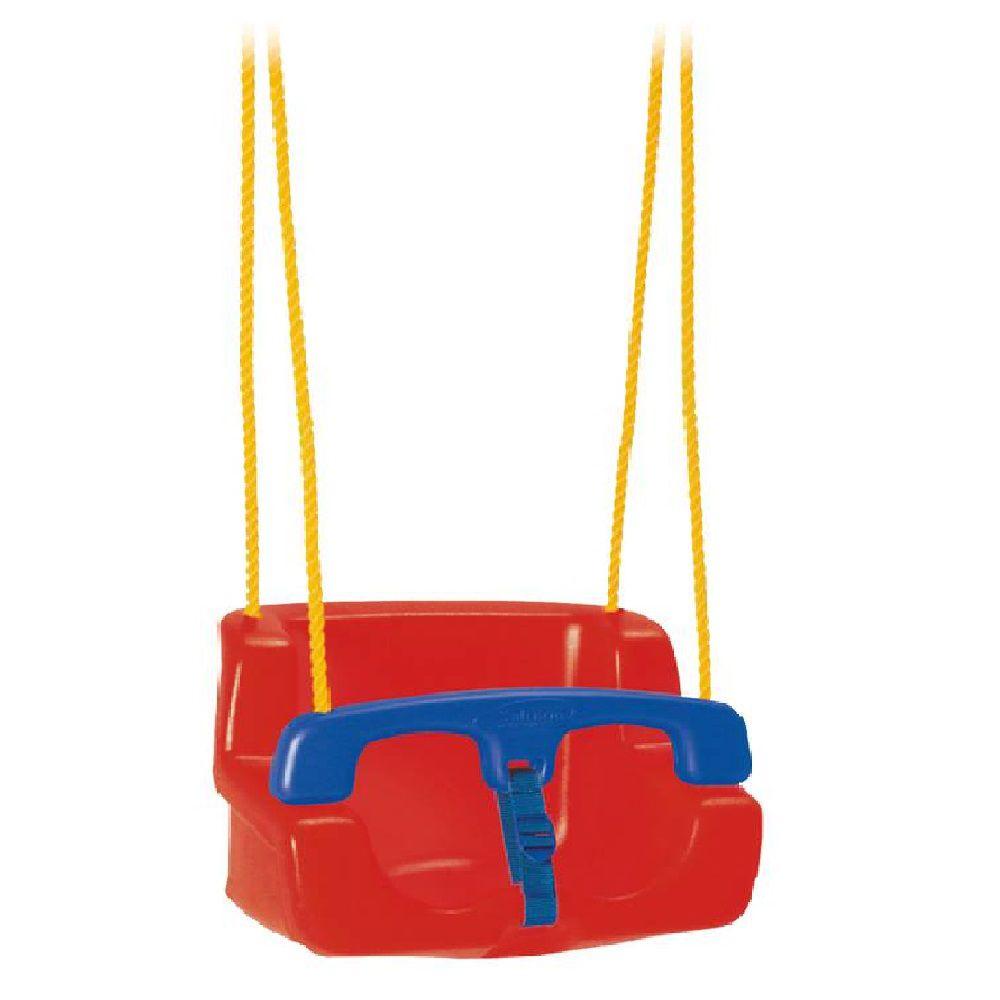 Balanço Infantil Vermelho para Playground Xalingo Ref. 287.7