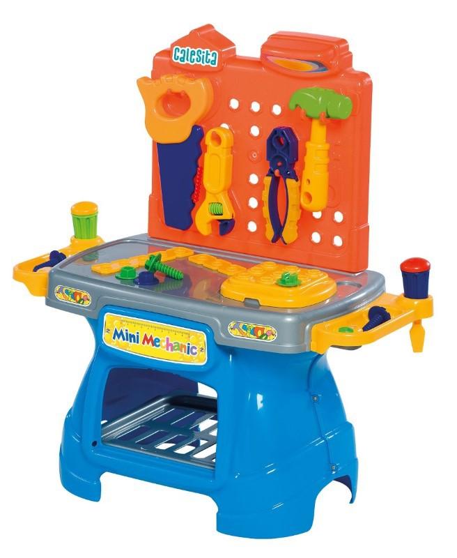 Bancada de Ferramentas Infantil Mini Mechanic 0465 Calesita