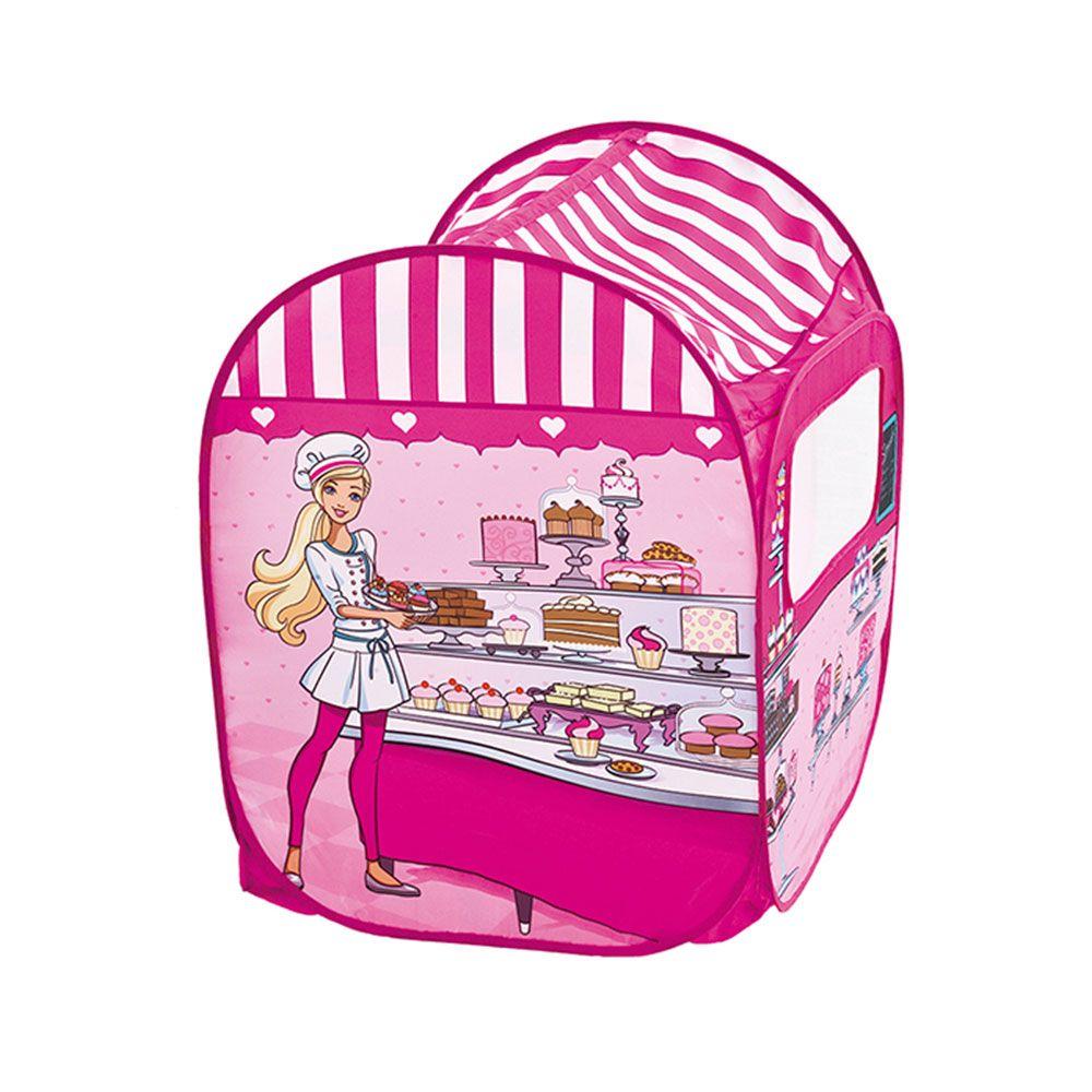 Barbie Barraca Infantil com 50 Bolinhas 77861 Fun Divirta-se