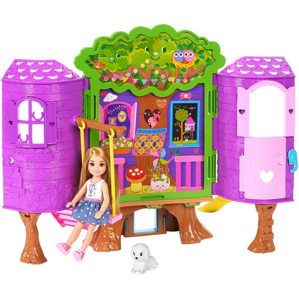 Barbie Casa na Árvore da Chelsea FPF83 Mattel