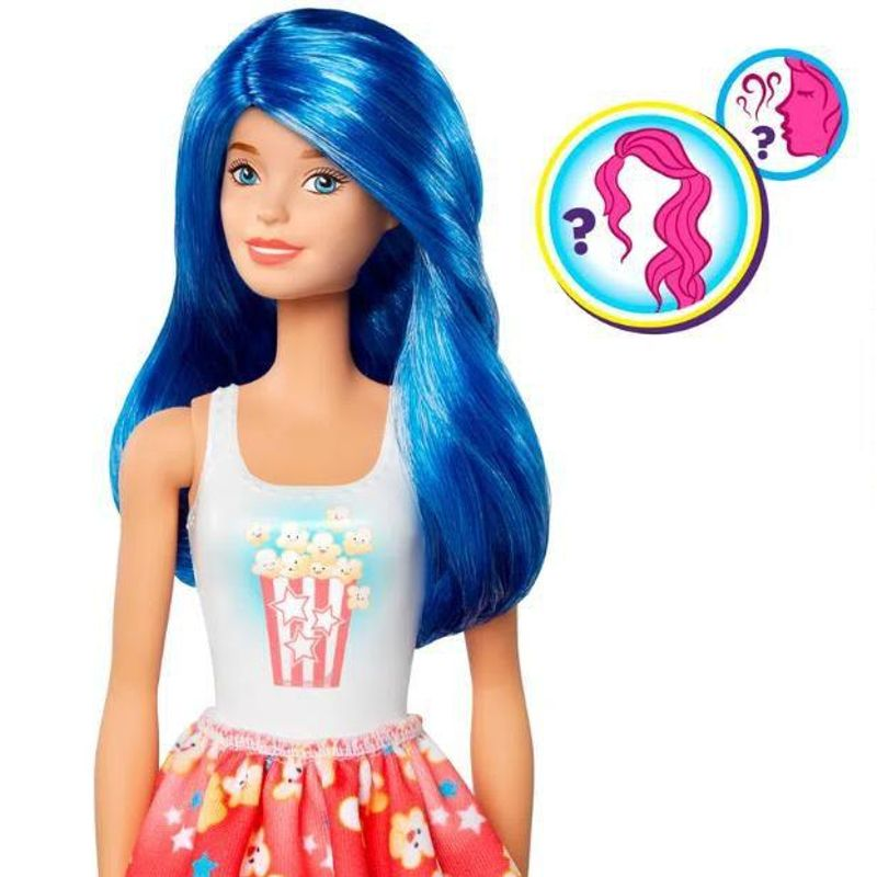 Barbie Color Reveal Estilo Surpresa Comidas Série 2 Mattel