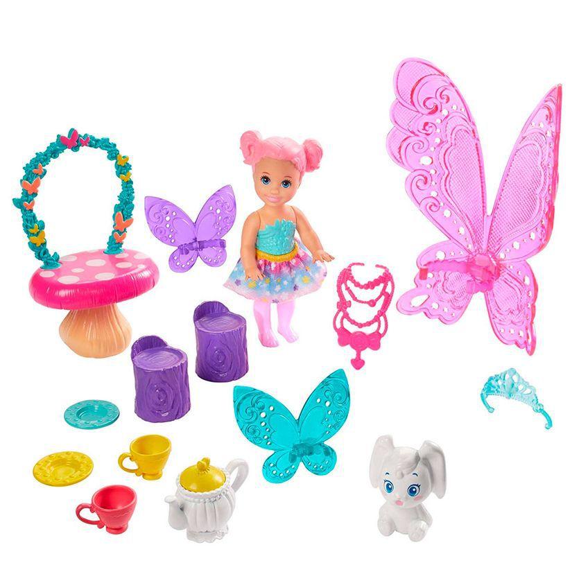 Barbie Dreamtopia Dia de Pets Festa do Chá GJK50 Mattel