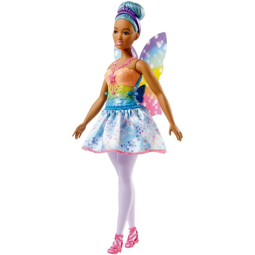 Barbie Fada Dreamtopia Cabelo Azul FXT00 Mattel