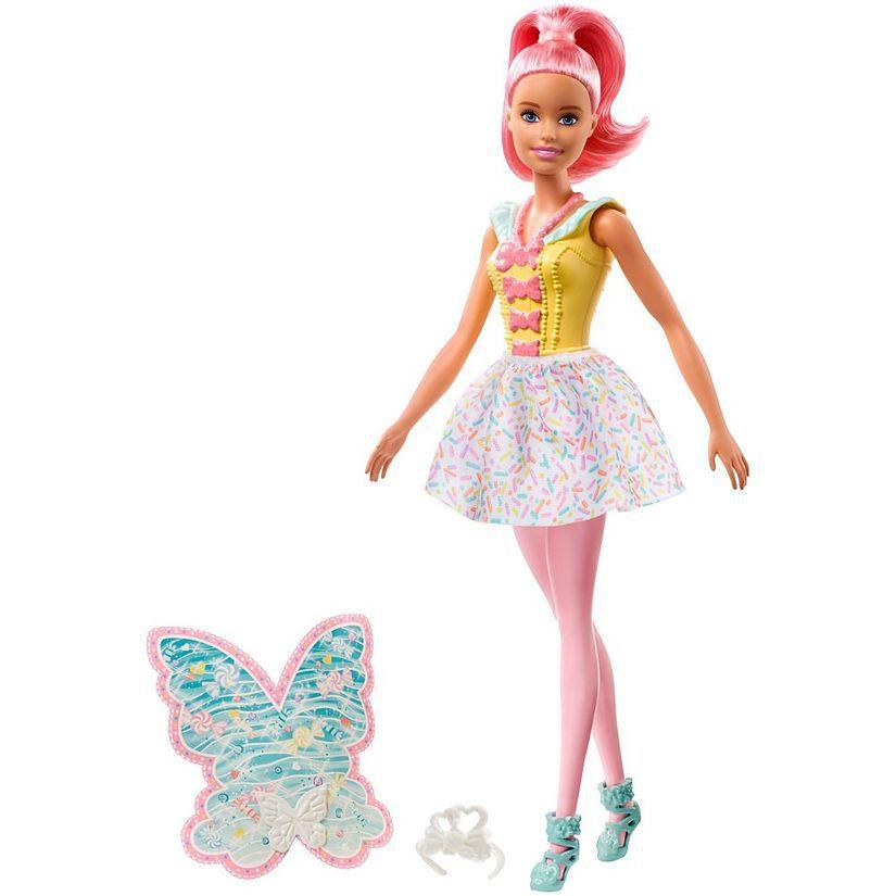 Barbie Fada Dreamtopia Cabelo Rosa FXT00 Mattel