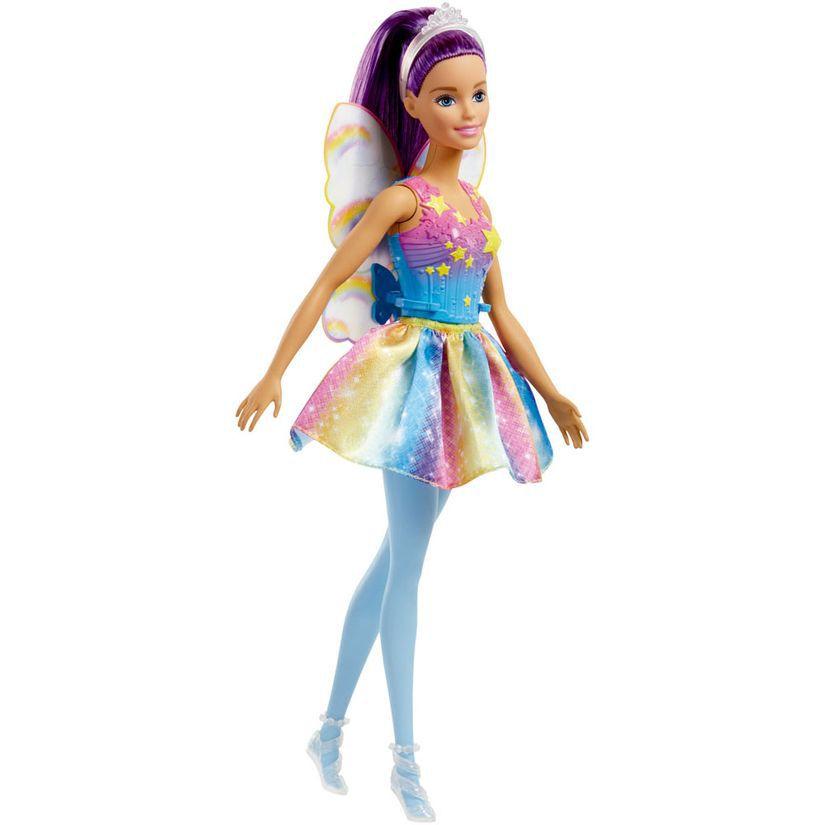 Barbie Fada Dreamtopia Cabelo Roxo FXT00 Mattel