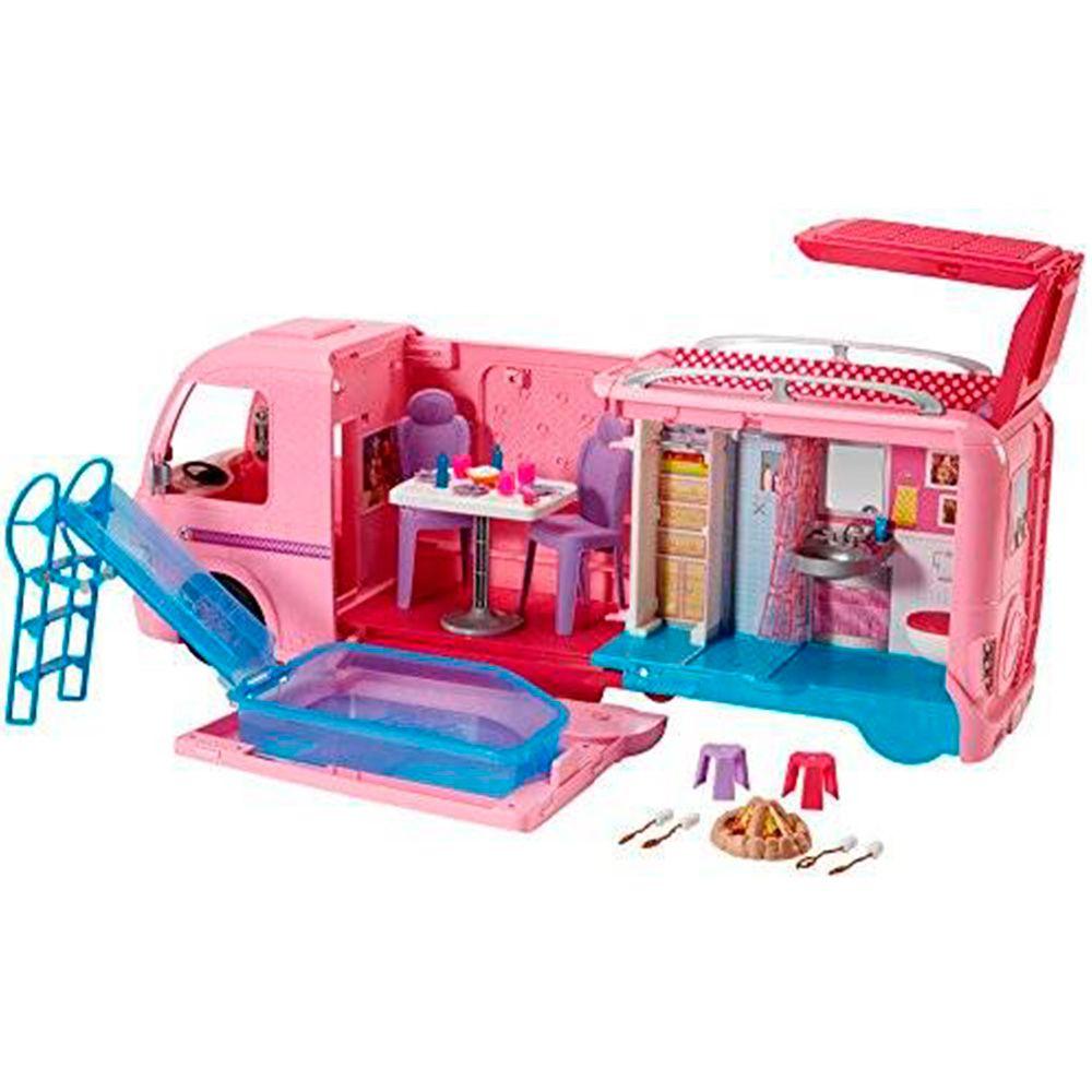 Barbie Real Trailer dos Sonhos FBR34 Mattel