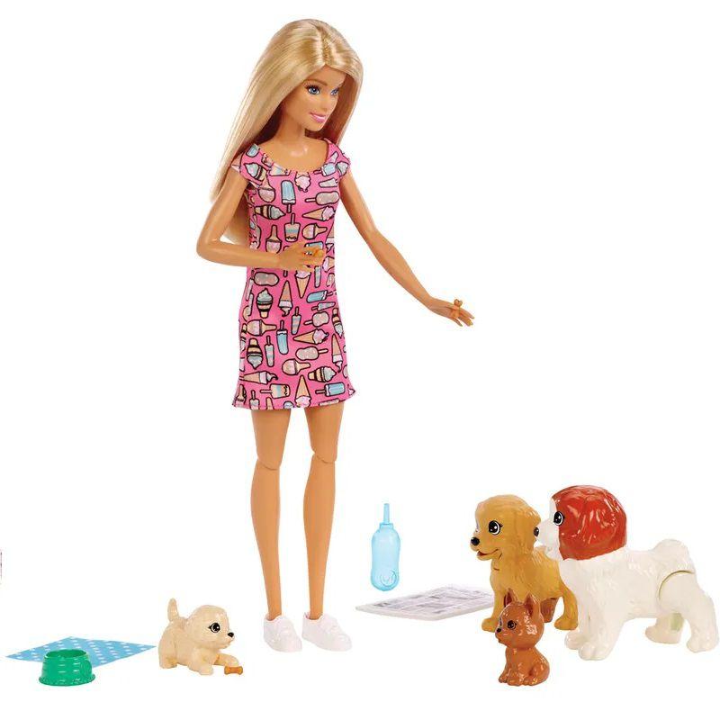 Barbie Treinadora de Cachorrinhos FXH08 Mattel