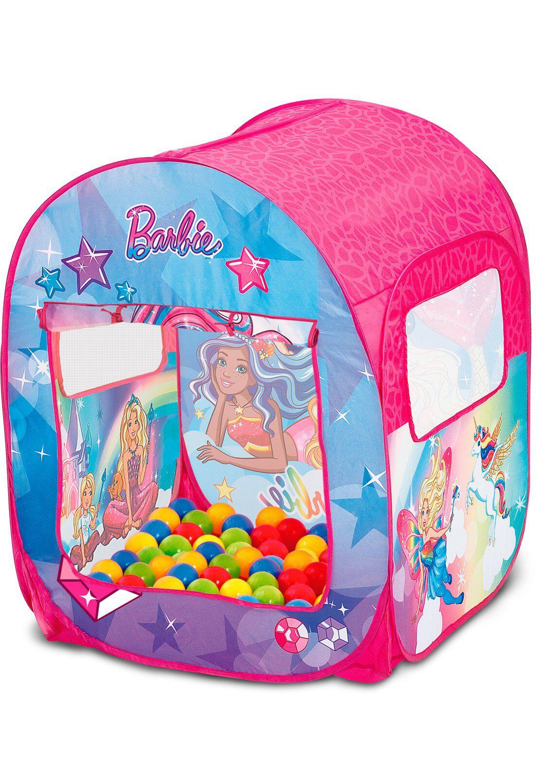Barraca Infantil Barbie Mundo dos Sonhos 86147 Fun Divirta-se