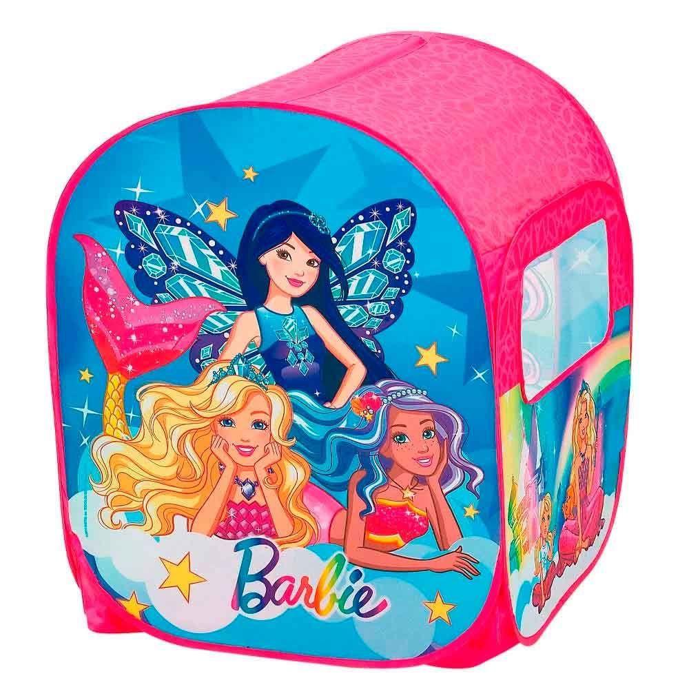 Barraca Infantil Barbie Mundo dos Sonhos com 50 Bolinhas 86165 Fun Divirta-se