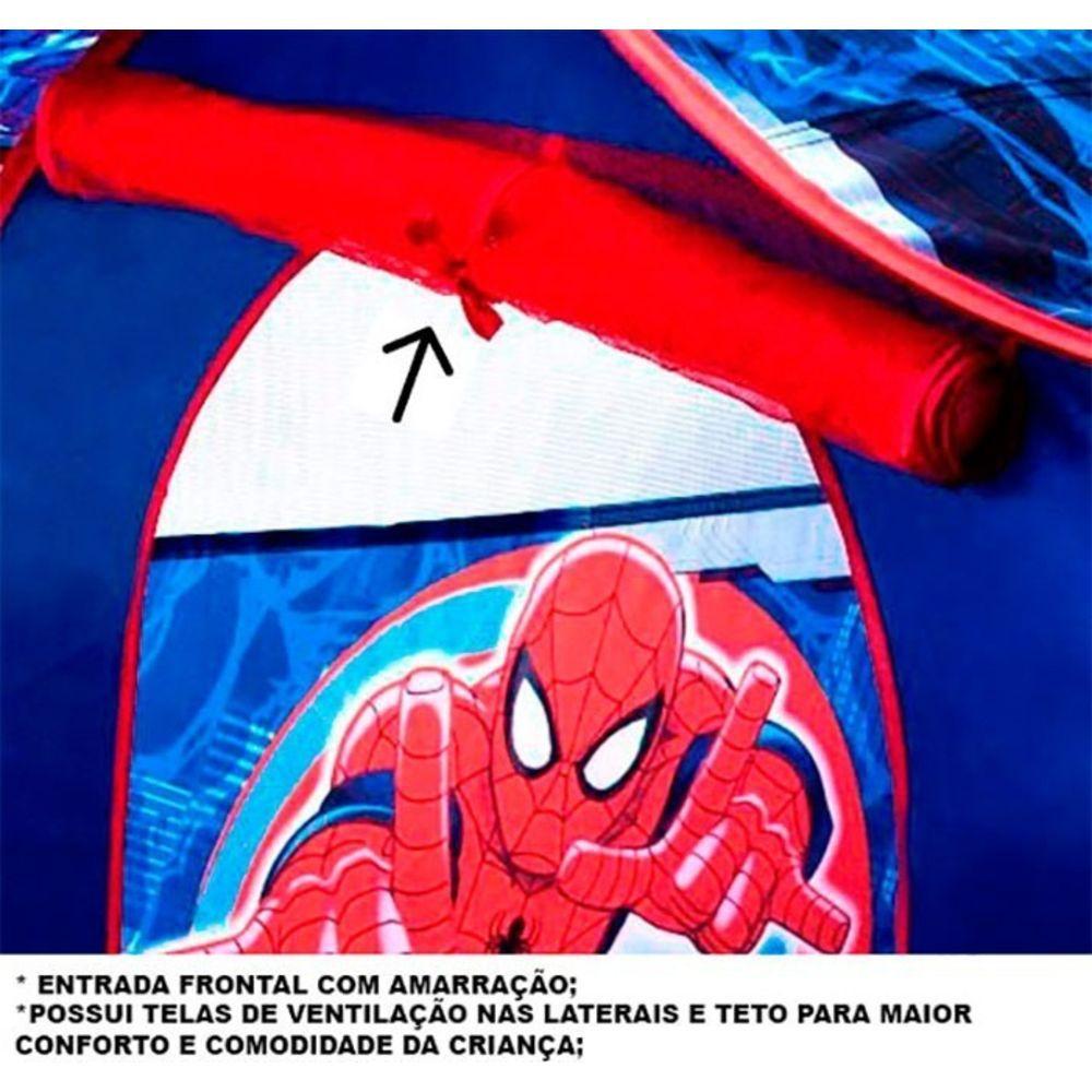 Barraca Portátil Casa Homem Aranha GF001C Zippy Toys