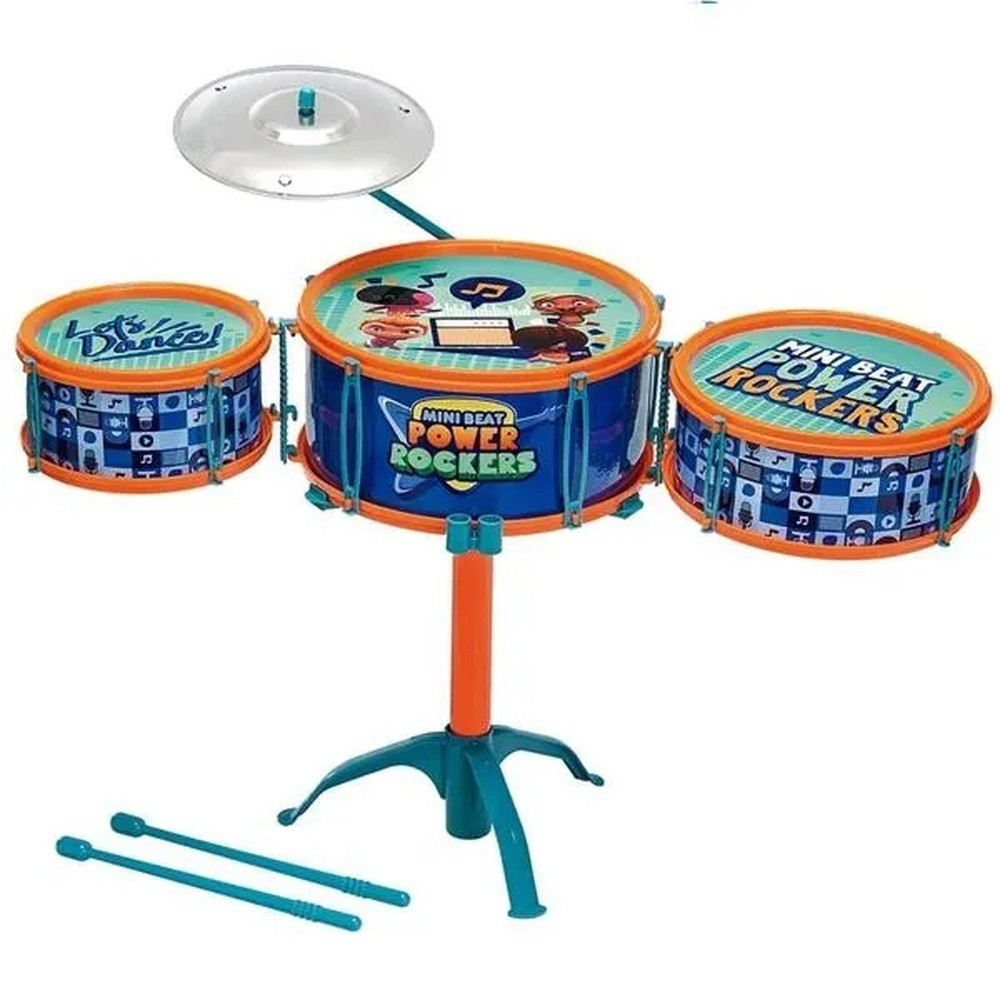 Bateria Infantil Mini Beats Power Rockers 86150 FUN