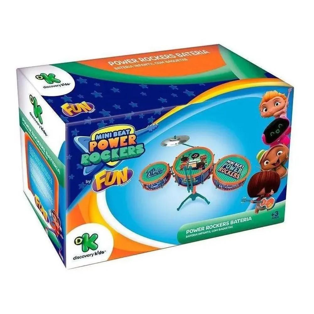 Bateria Infantil Mini Beats Power Rockers 86150 FUN