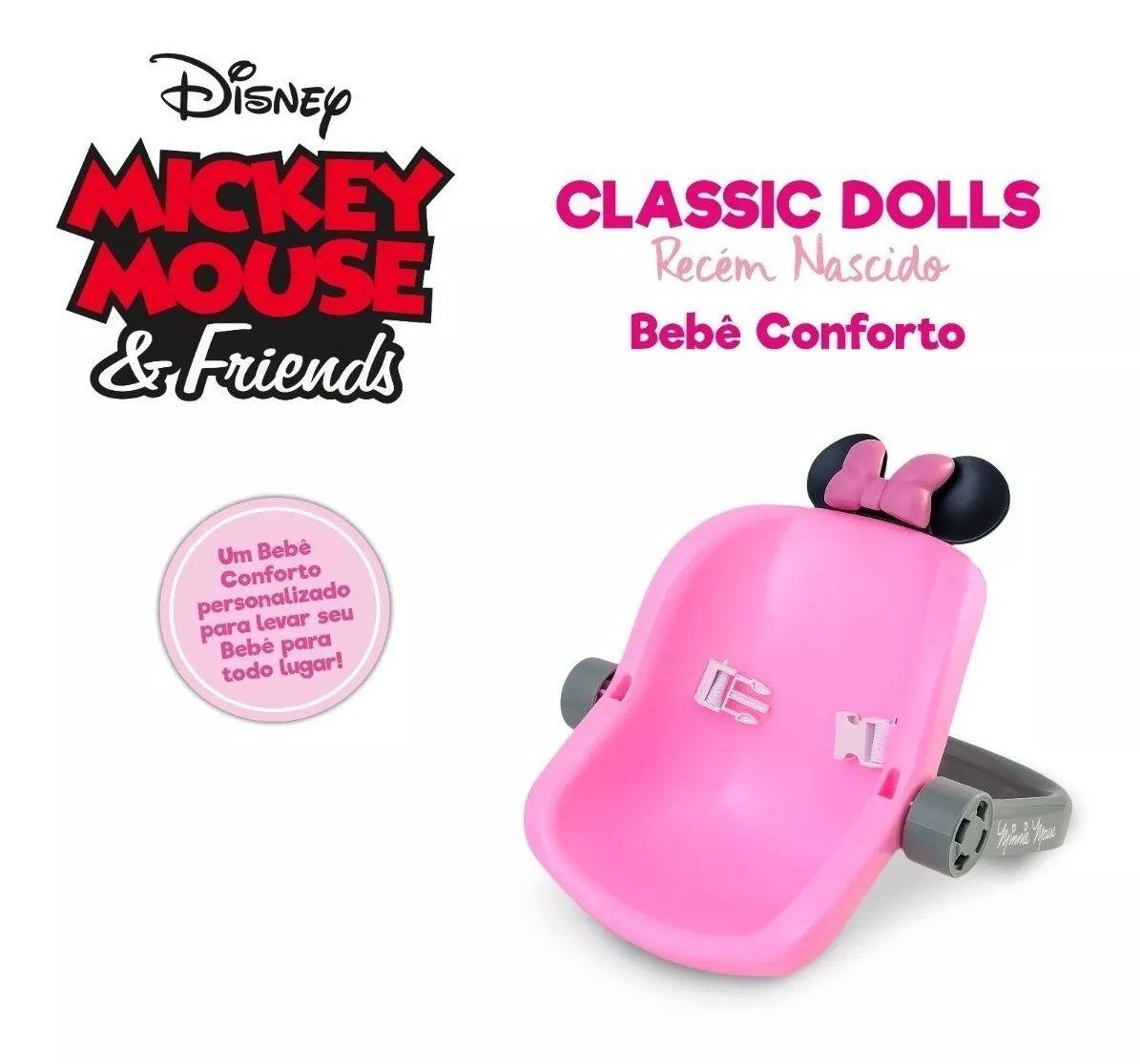 Bebê Conforto Classic Dolls Minnie Mouse 5171 Roma