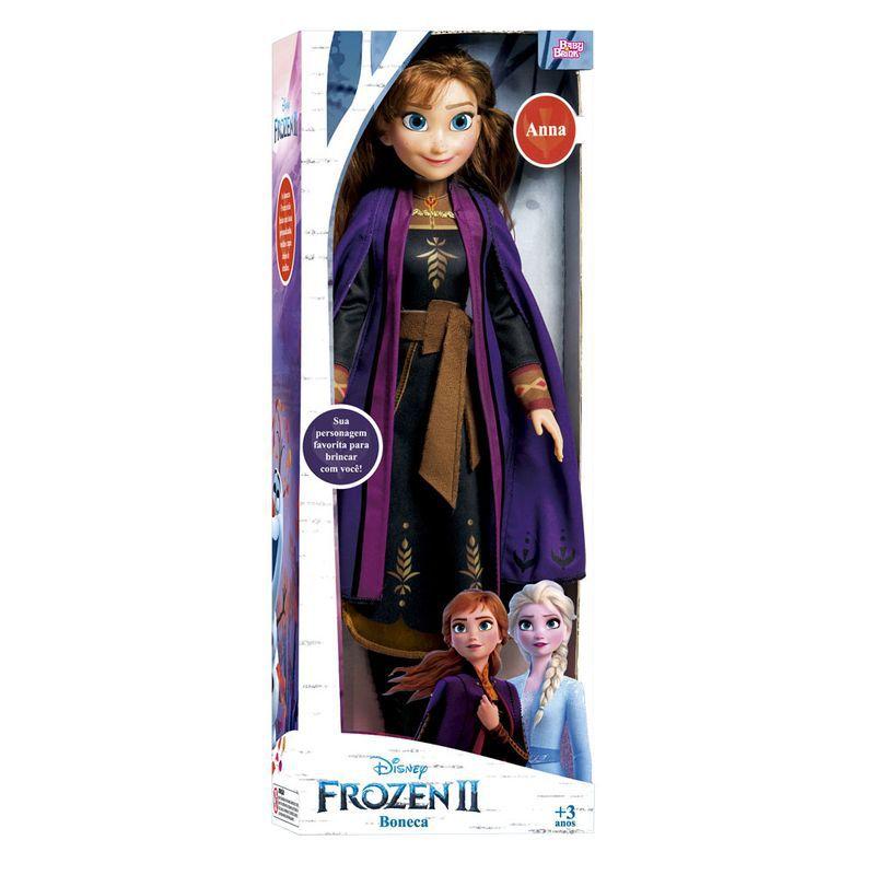 Boneca Articulada 55 Cm My Size Disney Frozen 2 Anna 1741 Novabrink