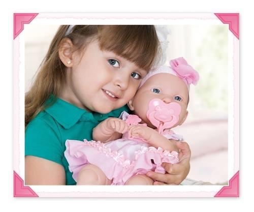 Boneca Baby Ninos C/ Certidão Nascimento 2032 Cotiplás