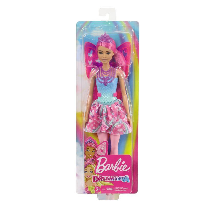 Boneca Barbie Dreamtopia Fada Cabelo Lilás GJJ98 Mattel